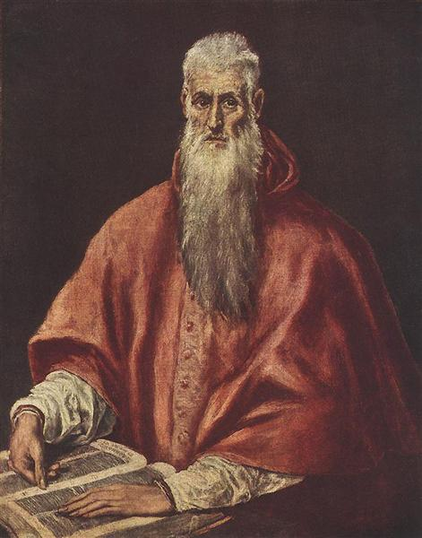 St. Jerome as Cardinal, c.1595 - El Greco