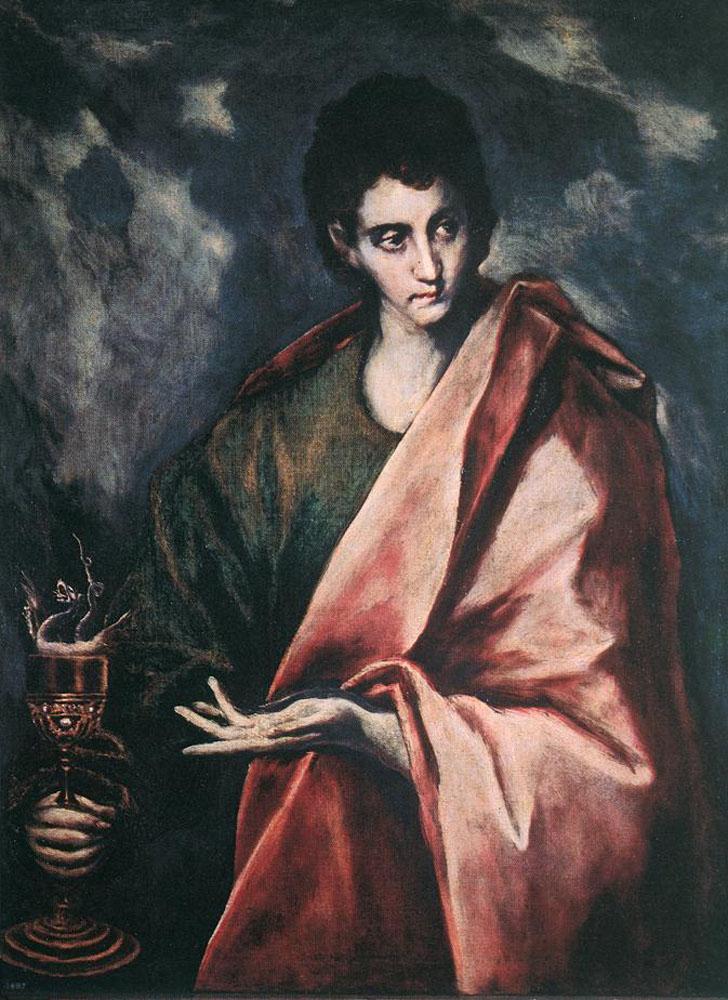 St. John the Evangelist, c.1604 - El Greco