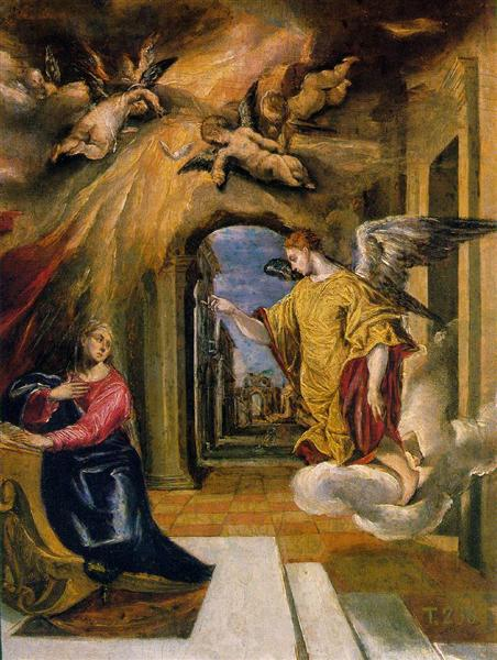 The Annunciation, 1576 - El Greco