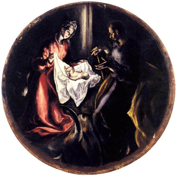 The Nativity, c.1604 - El Greco