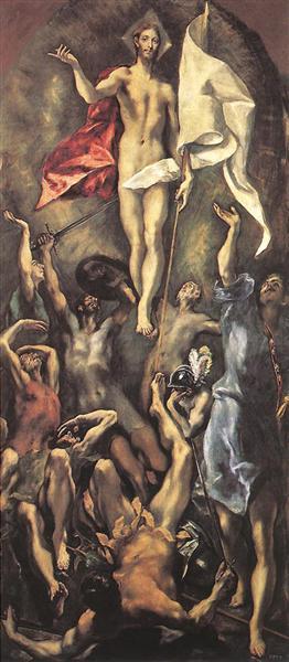 The Resurrection, 1596 - 1600 - El Greco