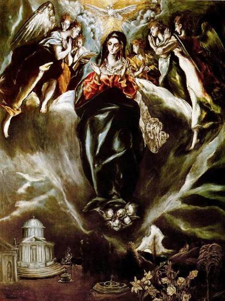 The Virgin of the Immaculate Conception, c.1610 - El Greco