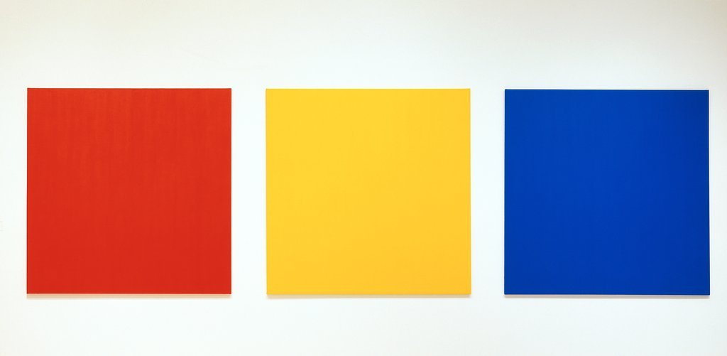 Red Yellow Blue Iii Ellsworth Kelly Wikiart Org