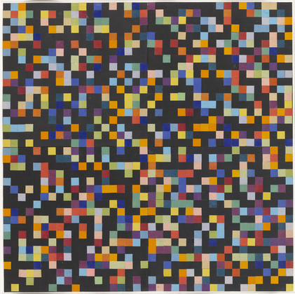 Spectrum Colors Arranged by Chance VI, 1951 - Ellsworth Kelly