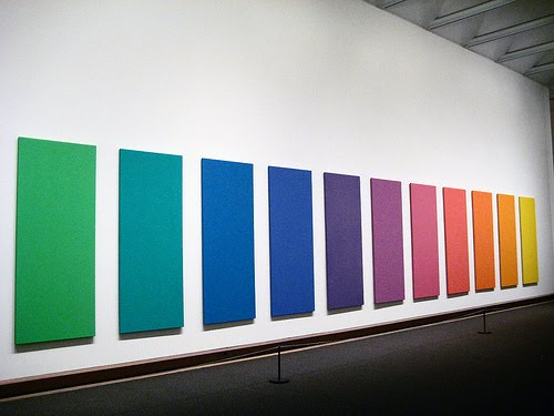 Spectrum V, 1969 - Ellsworth Kelly