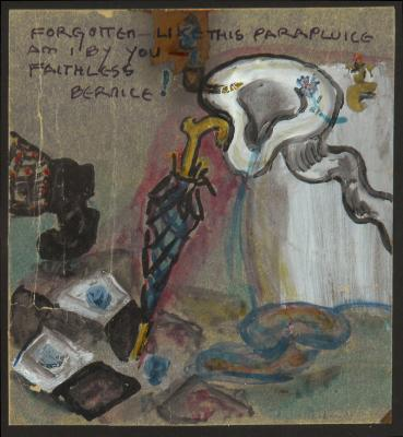 Forgotten Like this Parapluice am I by You – Faithless Bernice, 1924 - Elsa von Freytag-Loringhoven