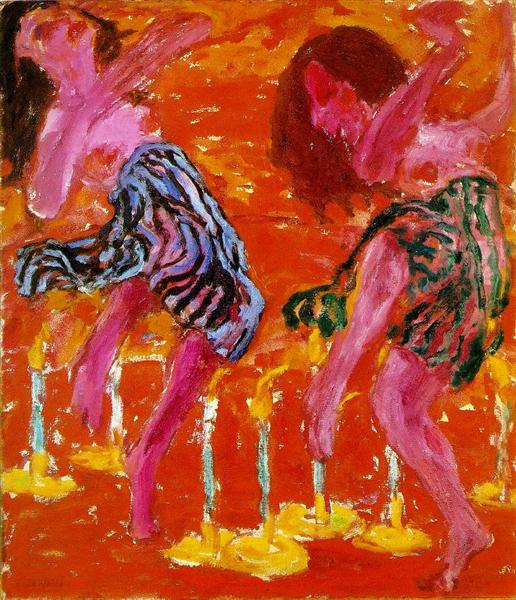 Candle Dancers, 1912 - 埃米尔·诺尔德