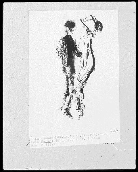 Dancing Couple, 1950 - Emil Nolde