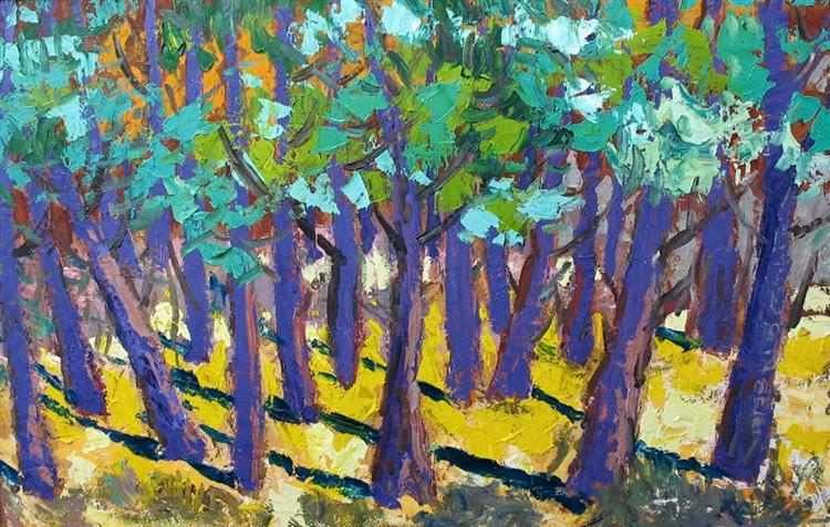 Thick forest, 1973 - Endre Bartos