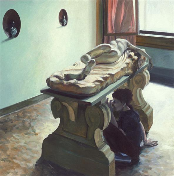 Eric Fischl Watercolors The Sheer Weigh...