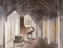 The Teleprinter Room - Eric Ravilious