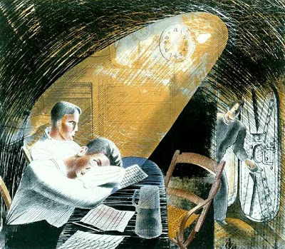 Ward Room 1, 1941 - Eric Ravilious