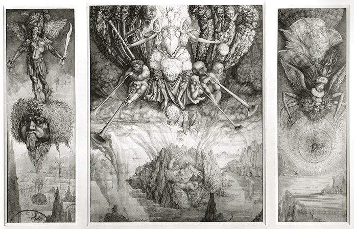 SATAN'S HEAVEN, 1954 - Ernst Fuchs