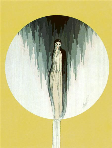 Emotions, Sadness - Erte