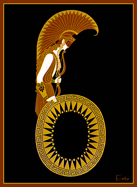 Number 6 erte for Art deco origin