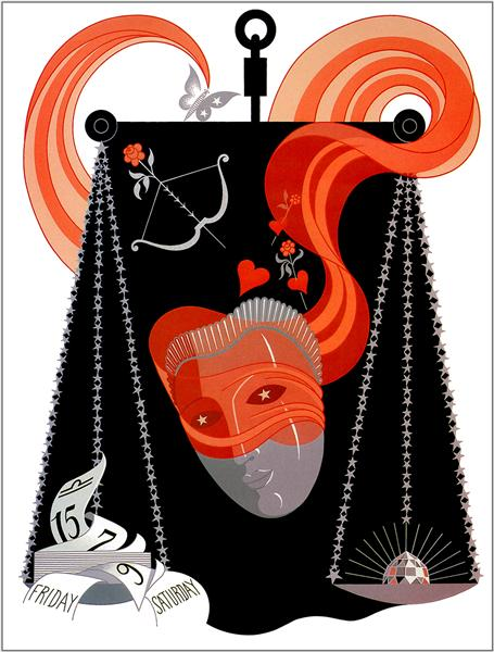 The Zodiac, Libra - Erte