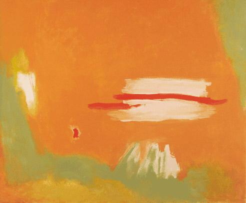 Red Across, 1996 - Esteban Vicente