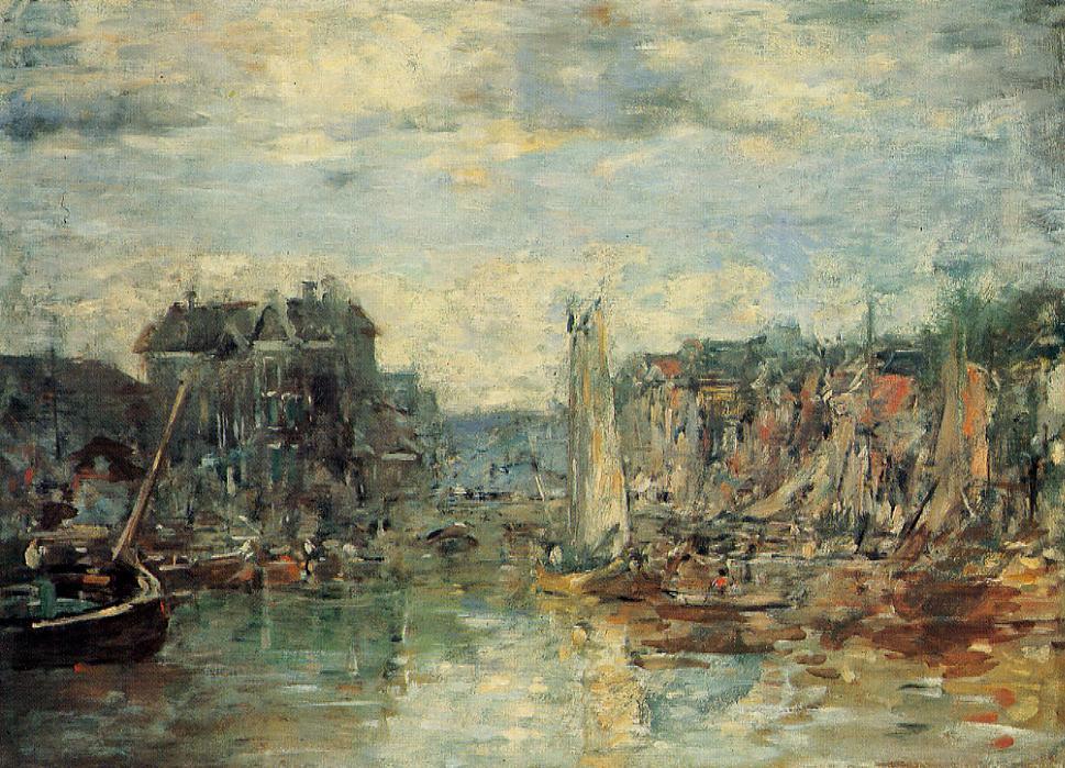 Rotterdam, the Commodities Exchange Port, 1878
