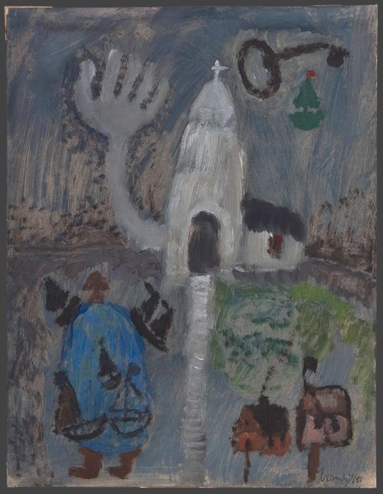 White chapel, 1951