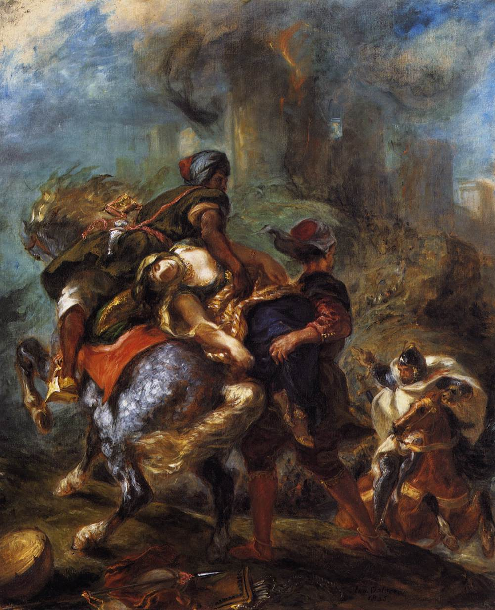 The Abduction of RebeccaDelacroix Napoleon