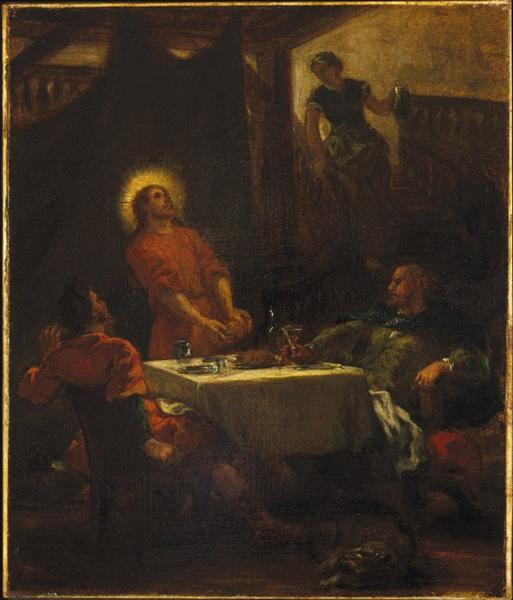 The Disciples at Emmaus, 1853 - Eugène Delacroix