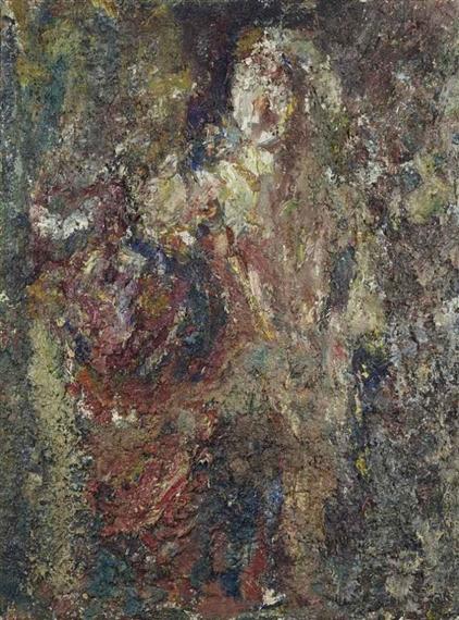 Grande Figure, 1980 - Eugene Leroy