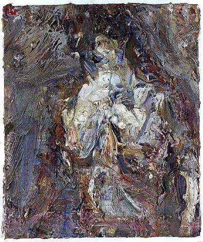 Nu blanc gris, 1958 - Eugene Leroy
