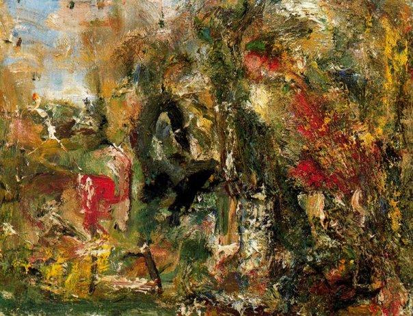Red Landscape, 1986 - Eugene Leroy