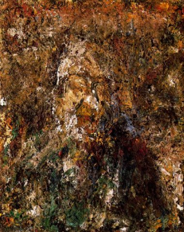 Self Portrait, 1986 - Eugene Leroy