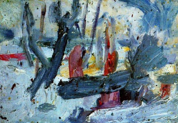 Snow, 1953 - Eugene Leroy