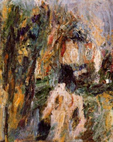 Valentine in landscape, 1954 - Eugene Leroy