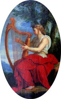 The Muse Calliope - Eustache Le Sueur