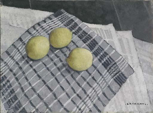 The Lemons, 1930 - Феличе Казорати