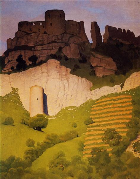 Chateau Gaillard at Andelys, 1924 - Felix Vallotton