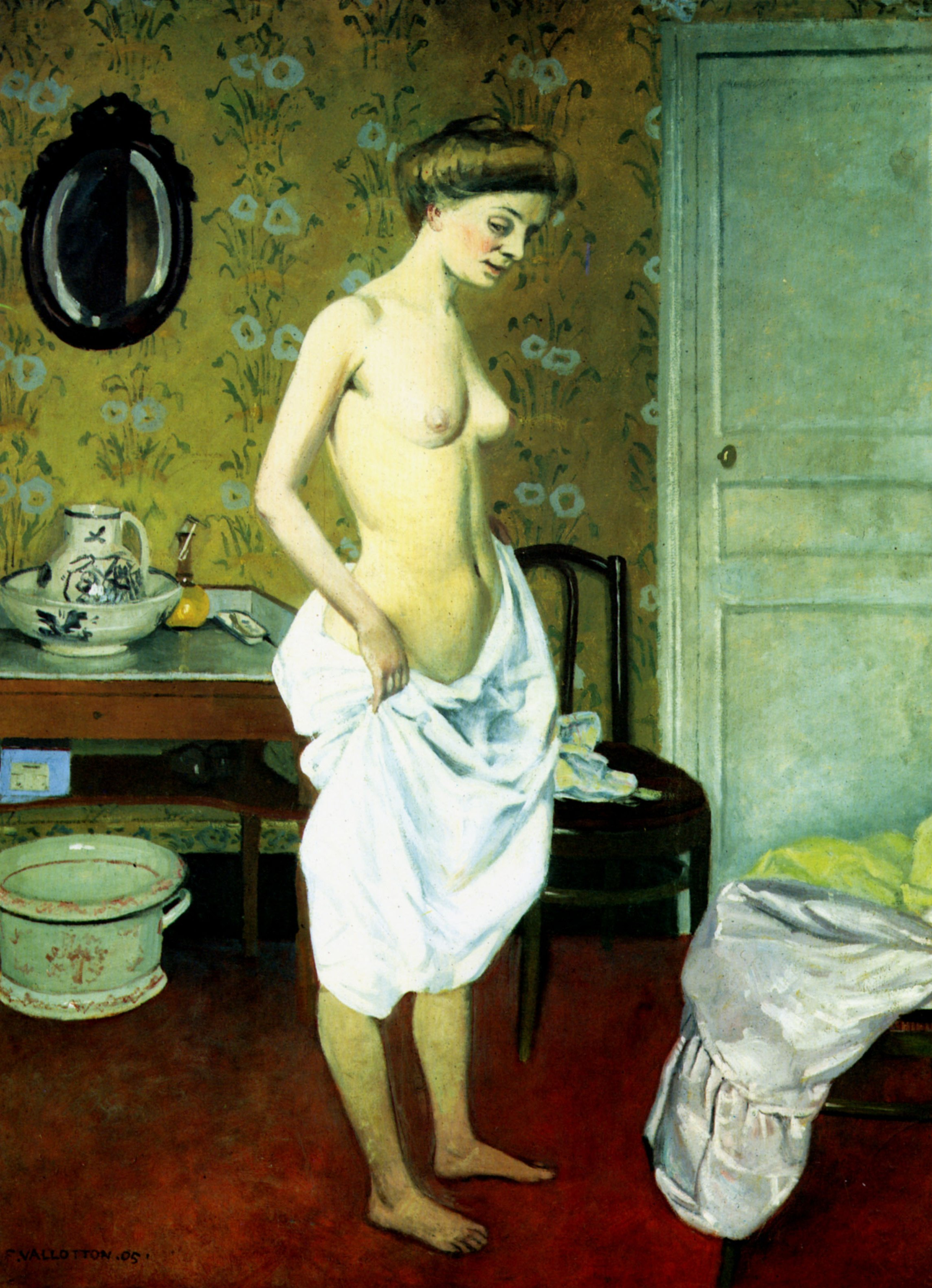 Felix Vallotton - Page 2 The-toilet-1905