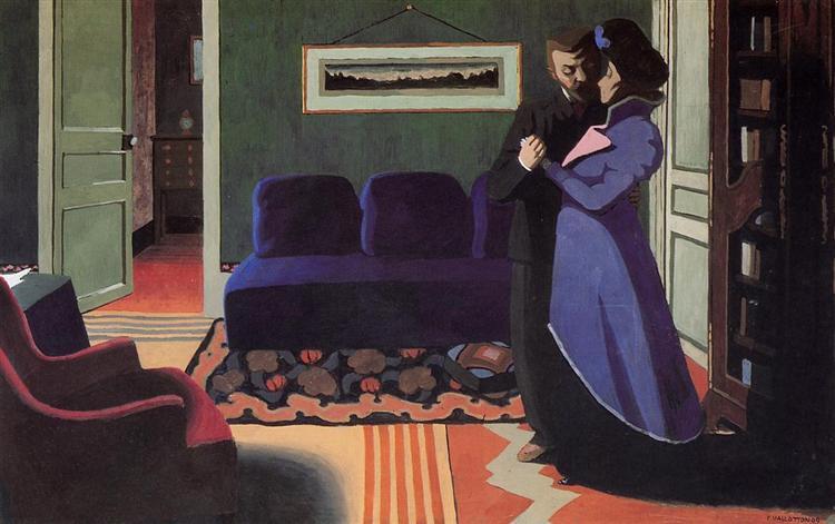 The Visit, 1899 - Felix Vallotton