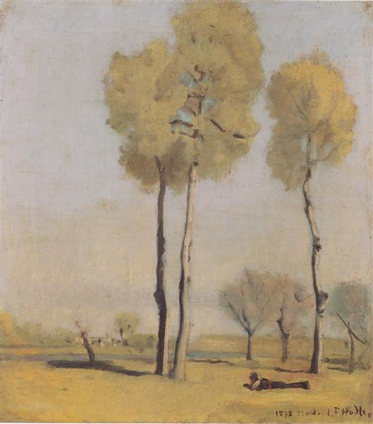Spanish landscape, 1878 - Ferdinand Hodler