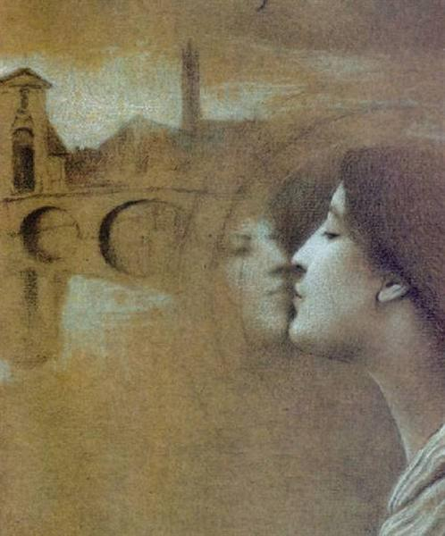 My Heart Cries for the Past, 1889 - Fernand Khnopff ...