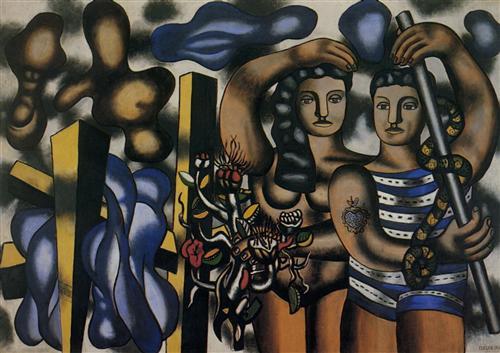 Adam and Eve - Fernand Leger