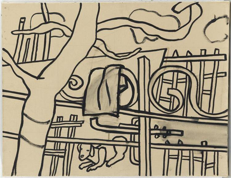 At the farm, 1955 - Fernand Léger
