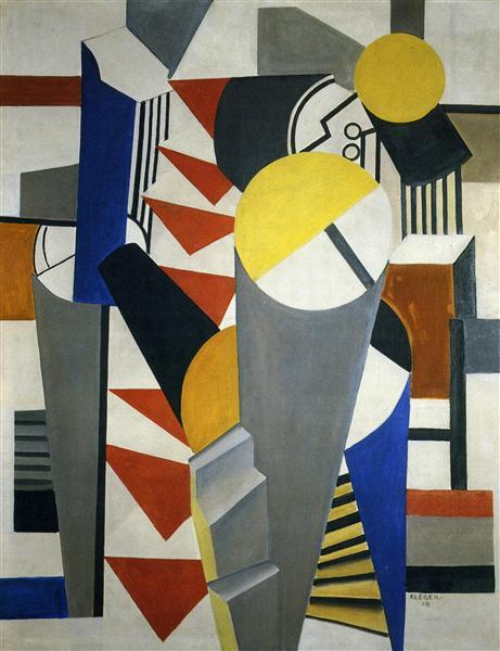 Composition, 1918 - Fernand Léger