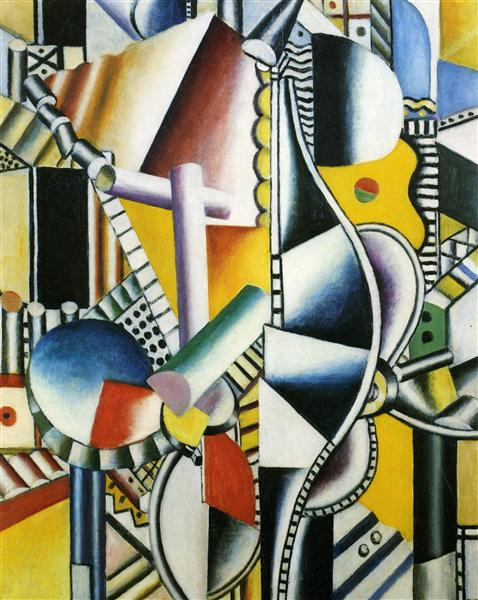Propellers 2nd state - Fernand Leger