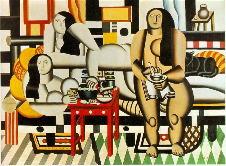 Three Women, 1921 - Fernand Léger
