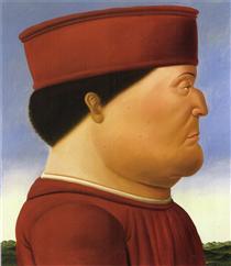 Federico da Montefeltro (dopo Piero della Francesca) - Fernando Botero