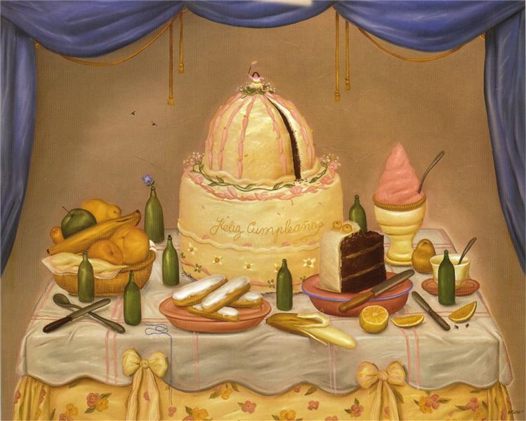 Happy Birthday, 1971 - Fernando Botero