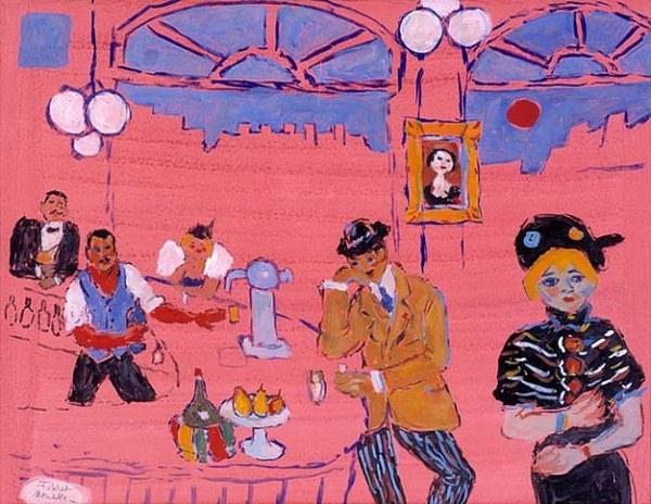 Pink Cafe - Fikret Mualla Saygi