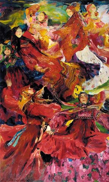 Farandole, 1926 - Филипп Малявин