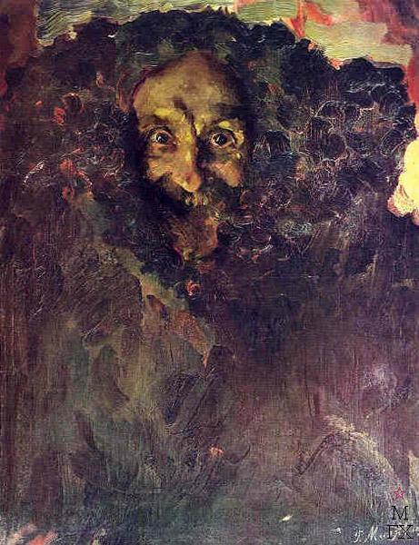 Portrait of sculptor Vladimir Beklemishev - Filipp Malyavin