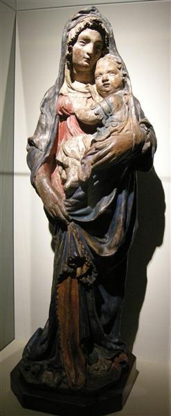 Madonna with Child, c.1410 - Filippo Brunelleschi