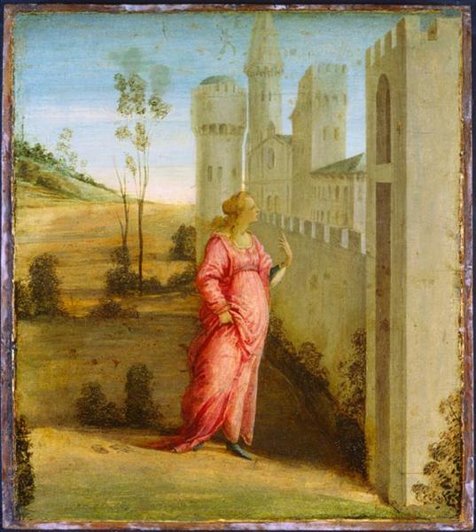 Esther at the Palace Gate - Filippo Lippi